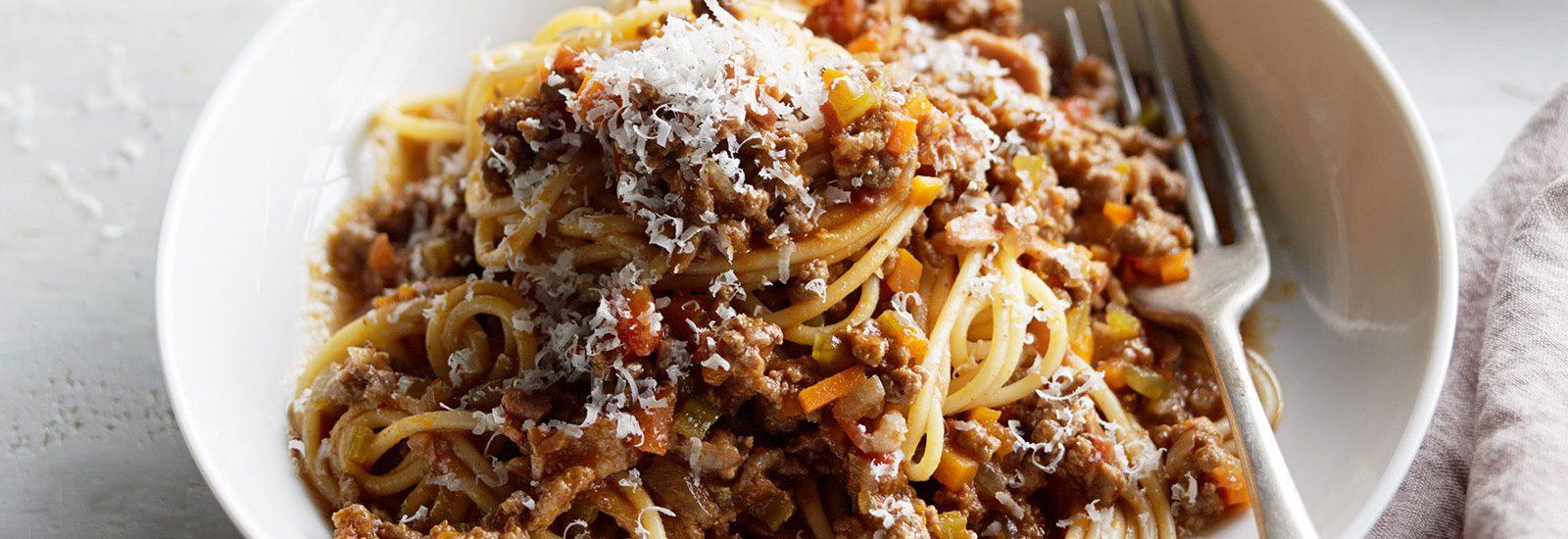 Manu's Spaghetti Bolognese